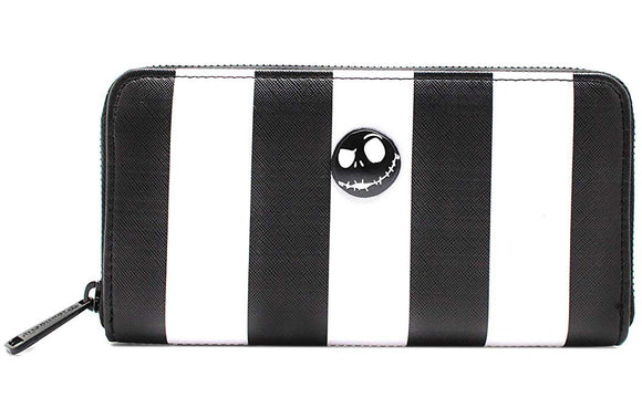 Loungefly Nightmare Before Christmas Striped wallet