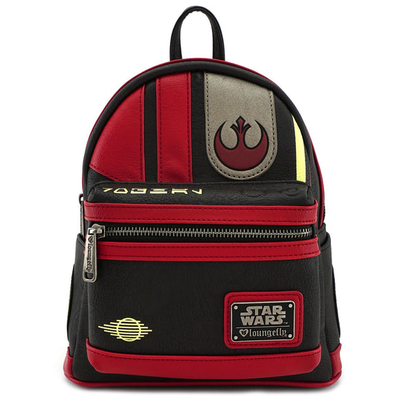 Loungefly Star Wars The Last Jedi Poe Mini Backpack