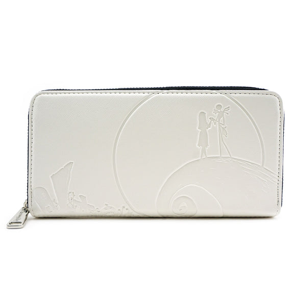 Loungefly Nightmare Before Christmas Milk White NBC Purse Wallet