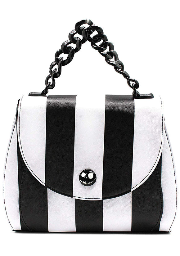 Loungefly Nightmare Before Christmas Striped Crossbody Bag