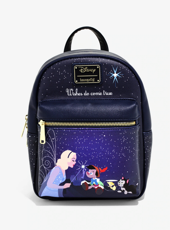 Loungefly Pinocchio Blue Fairy Backpack
