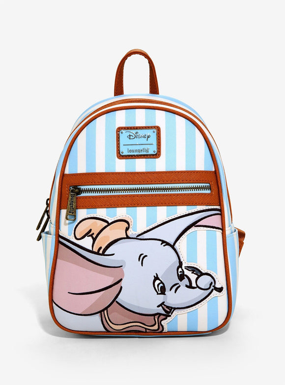 Loungefly Dumbo Striped Backpack