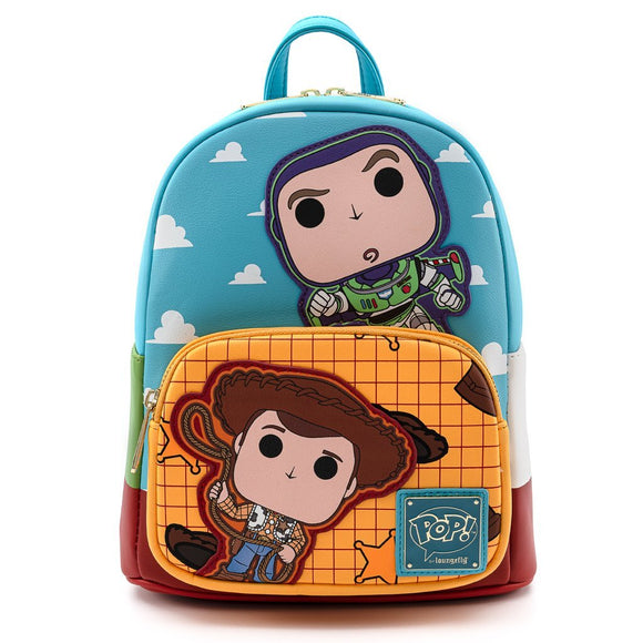 Loungefly 25TH Anniversary Toy Story Buzz And Woody Mini Backpack