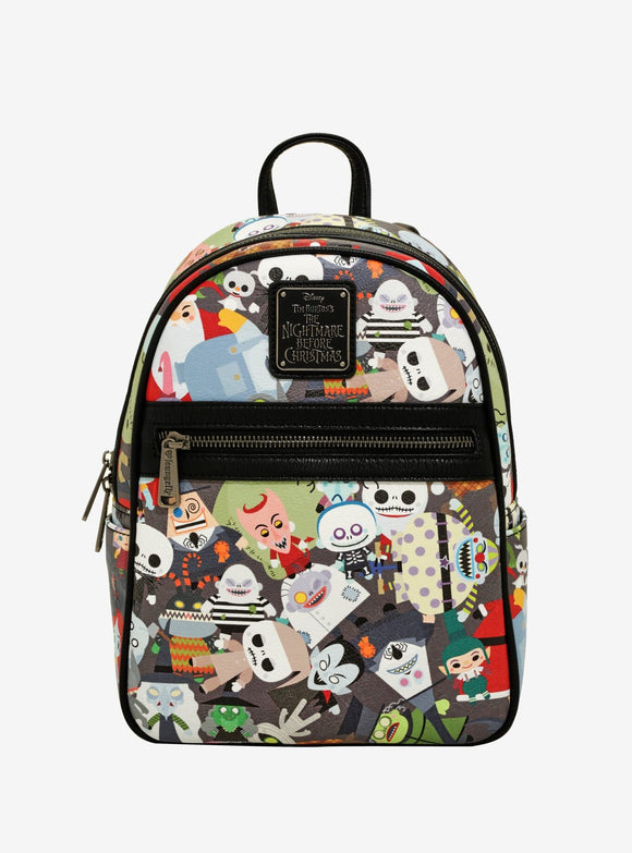 Loungefly Nightmare Before Christmas Chibi Backpack