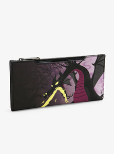 Loungefly Sleeping Beauty Maleficent Dragon Purse Wallet