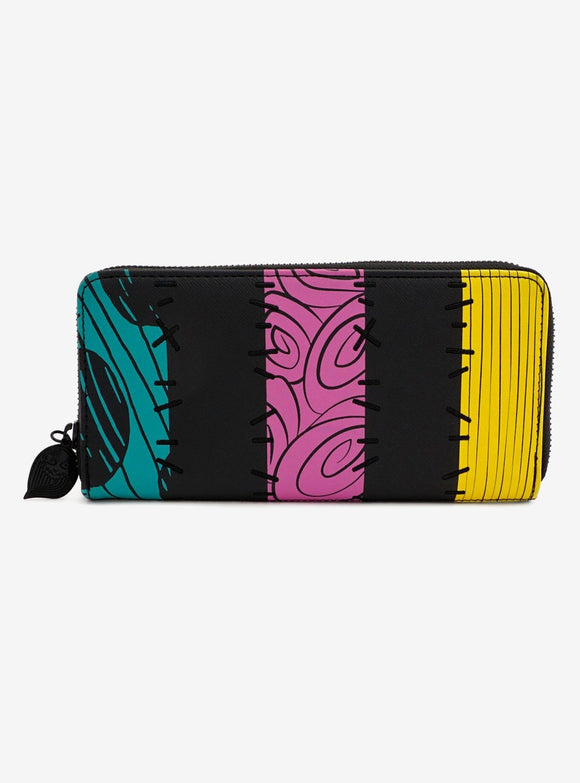 Loungefly Nightmare Before Christmas Sally Zipper Purse Wallet