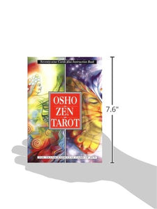 Osho Zen Tarot: The Transcendental Game of Zen (79 cartes + livre d'instructions) (Anglais) Broché – 1 mai 1995