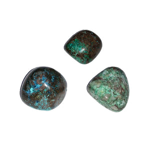 Pierres roulées Chrysocolle-Turquoise – 250grs
