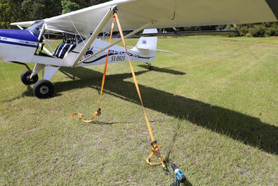 Parking and Securing Light Aircraft on Grass and Rough Airfields
