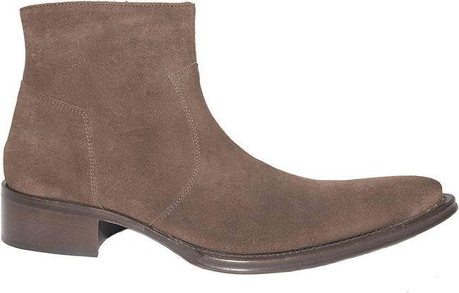 Twenty 367 Brown Suede Leather Ankle Boots