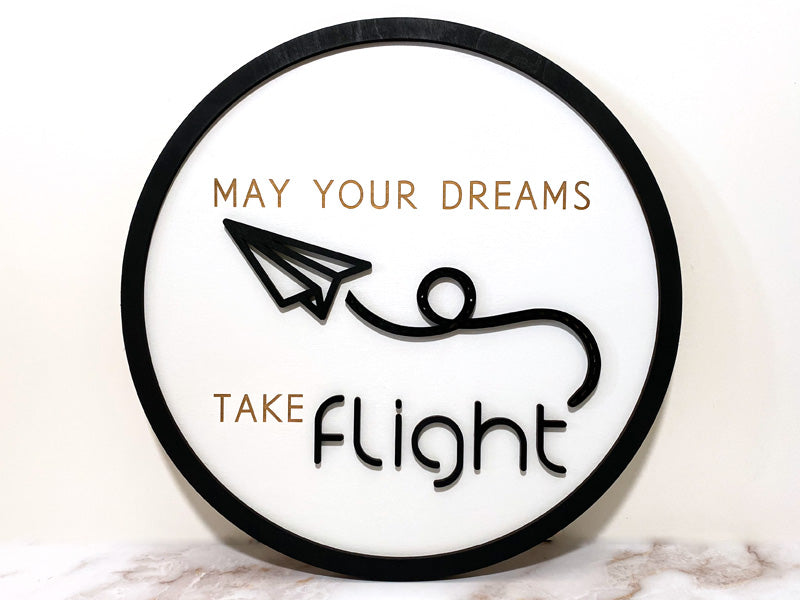 Dreams Take Flight - Wall Sign