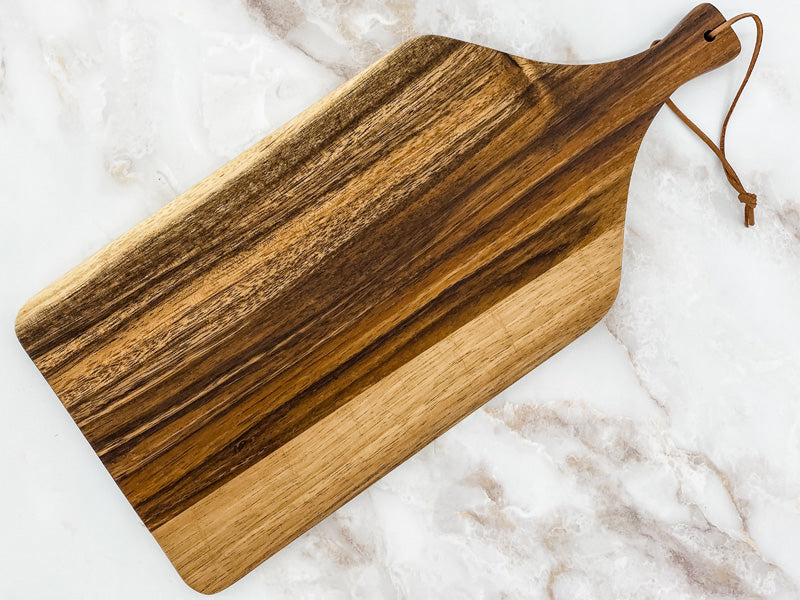 Custom Acacia Cutting Board