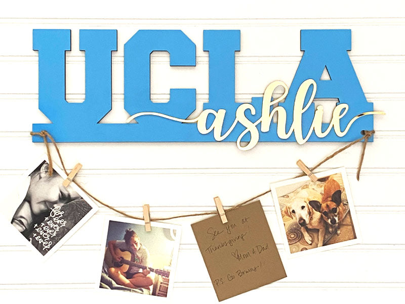 Collegiate Photo Hanger - Custom