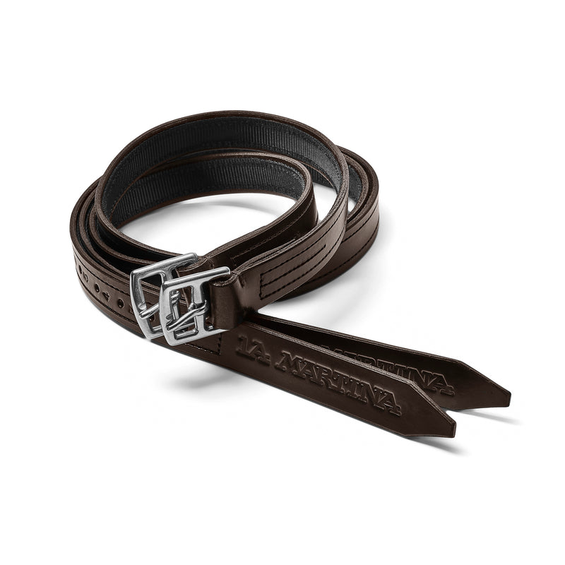 The English Pro Non- Stretch Stirrup Leathers