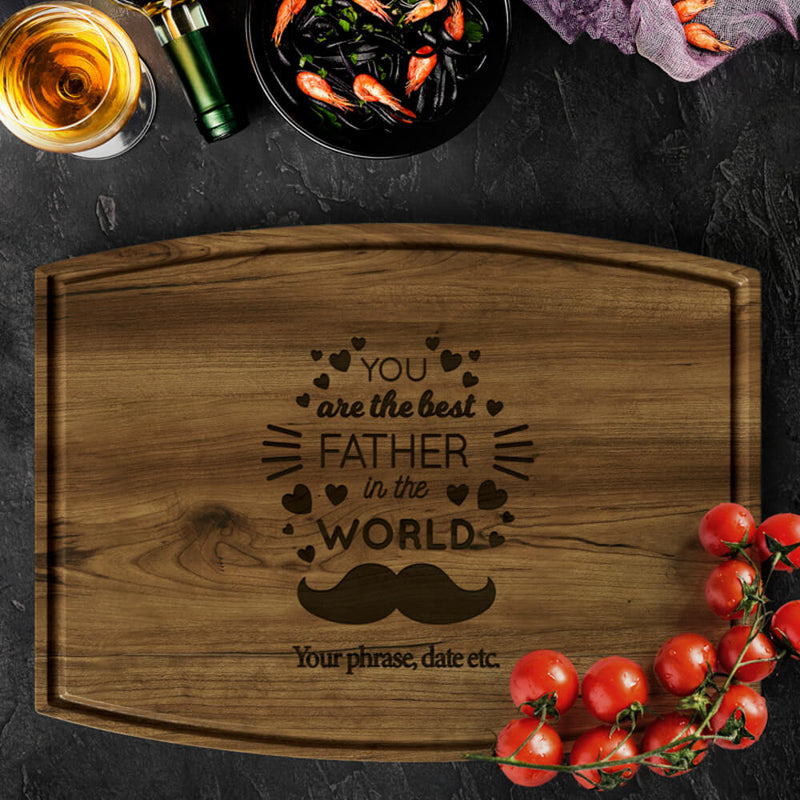 Personalized Cutting Board For Dad