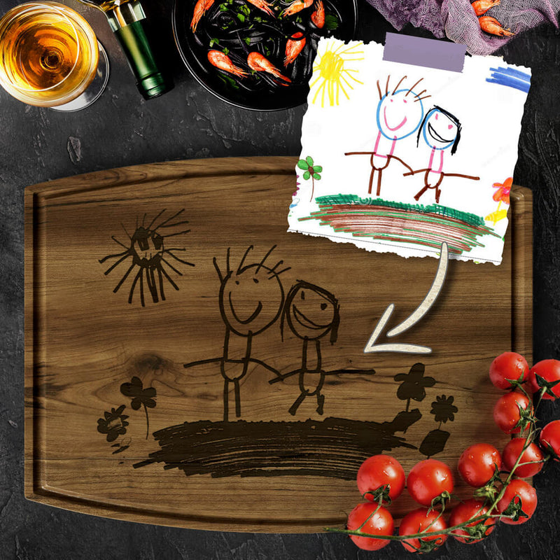 Your Photo in Personalized Cutting Board
