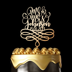 Personalized Cake Topper Henderson