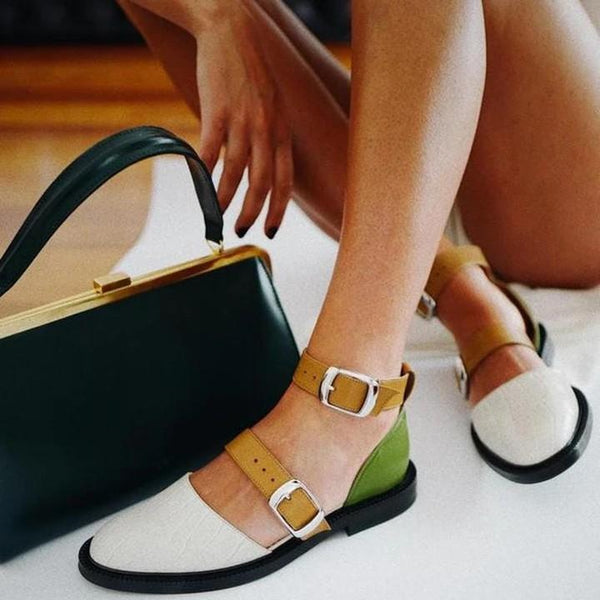 Women's Colorful Summer Flat Sandals