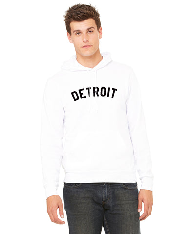 Detroit Pullover Hoodie - The Great Lakes State