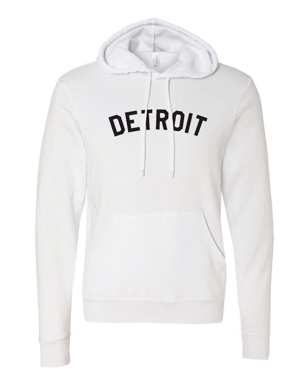 Basic Detroit Pullover Hoodie
