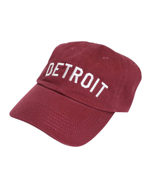 Detroit Basic Dad Cap