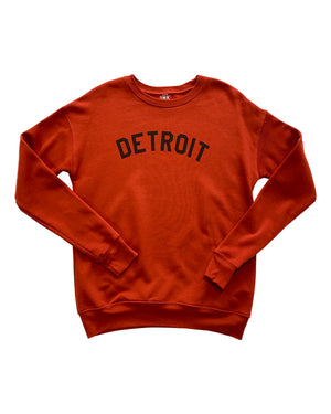 Basic Detroit Crewneck Sweatshirt