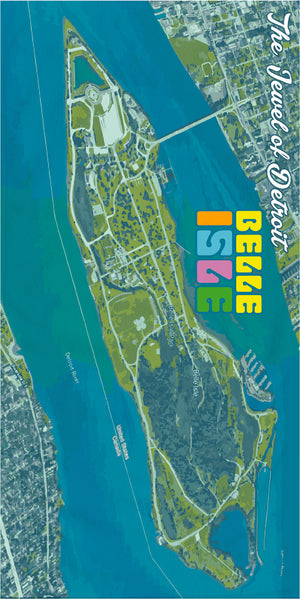 Belle Isle Beach Towel