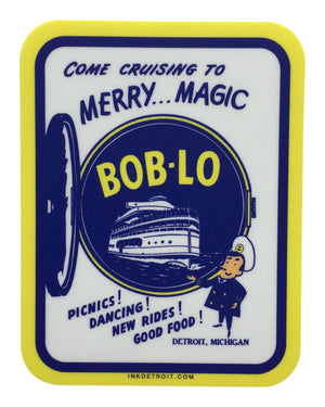 Bob-Lo Boat Sticker