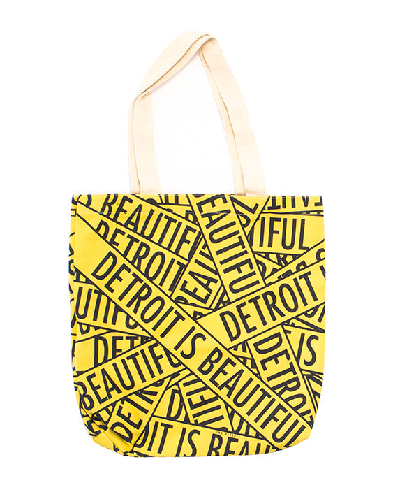 Detroit is Beautiful Tote Bag