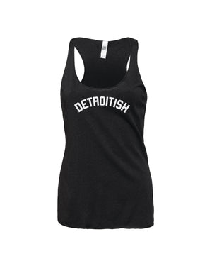 NEW Detroitish Women's Racerback Tank Top