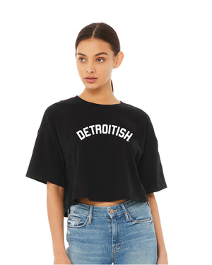 NEW Detroitish Boxy Women's Crop T-Shirt (PRE-ORDER)