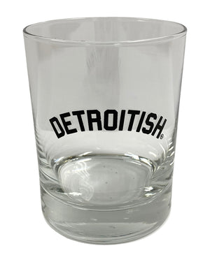 Detroitish Rocks Glass.