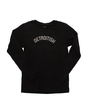 Detroitish Long Sleeve - Black