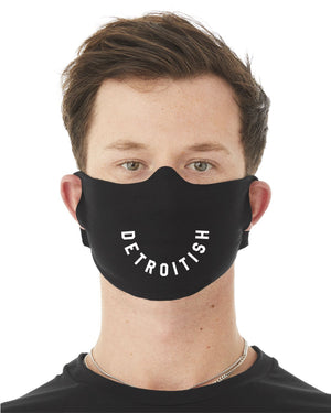 Detroitish - T-Shirt Material -  Face mask / Cover