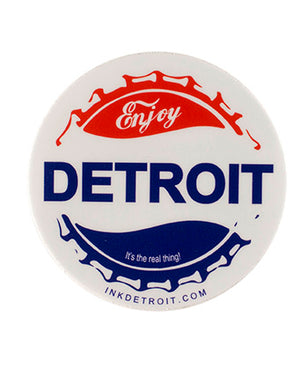 Enjoy Detroit Sticker