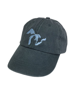 Great Lakes Navy Pigment Dyed Dad Hat
