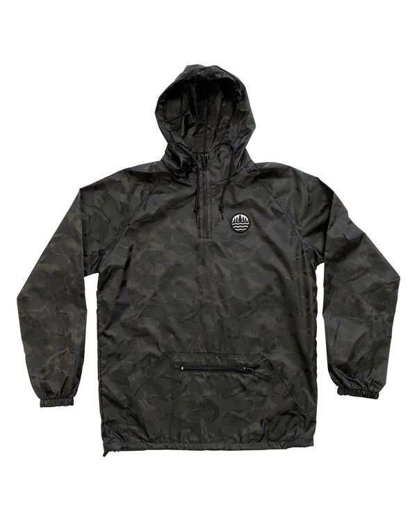 The Great Lakes State TGLS Packable Anorak Pullover Hoodie - 3D Camo