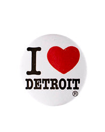 I Love Detroit Magnet - The Great Lakes State