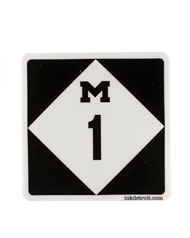 M1 Sticker - The Great Lakes State