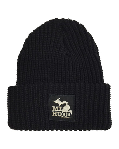 MI Hood Chino Cuffed Beanie - The Great Lakes State