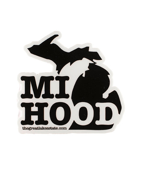 MI Hood Sticker - The Great Lakes State