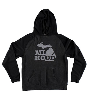 MI HOOD - Toddler Hoodie - The Great Lakes State