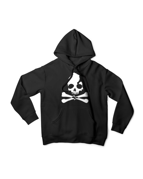 Michigan Skull & Bones Unisex Hoodie - The Great Lakes State