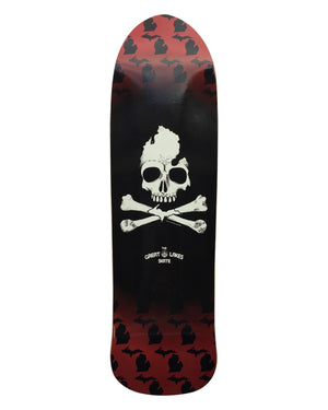 Michigan Skull & Bones Old School Skate Deck