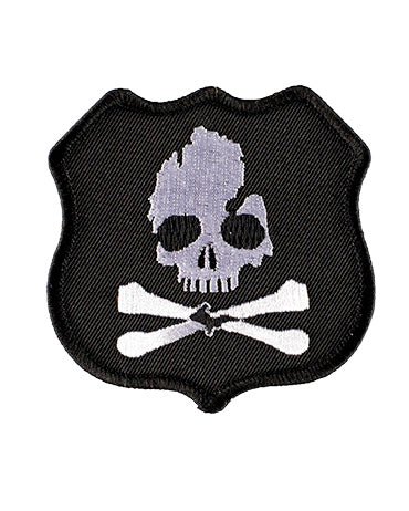 Michigan Skull & Bones Highway Pirate iron on patch - The Great Lakes State