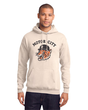 Motor City Bad Cat Unisex Hoodie