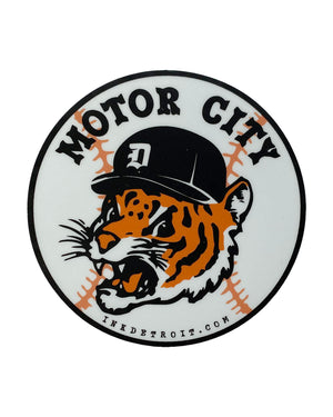 Motor City Kitty Sticker