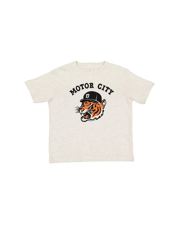 Motor City Kitty - Toddler T-Shirt - Natural