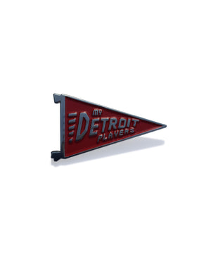 My Detroit Players Enamel Pin