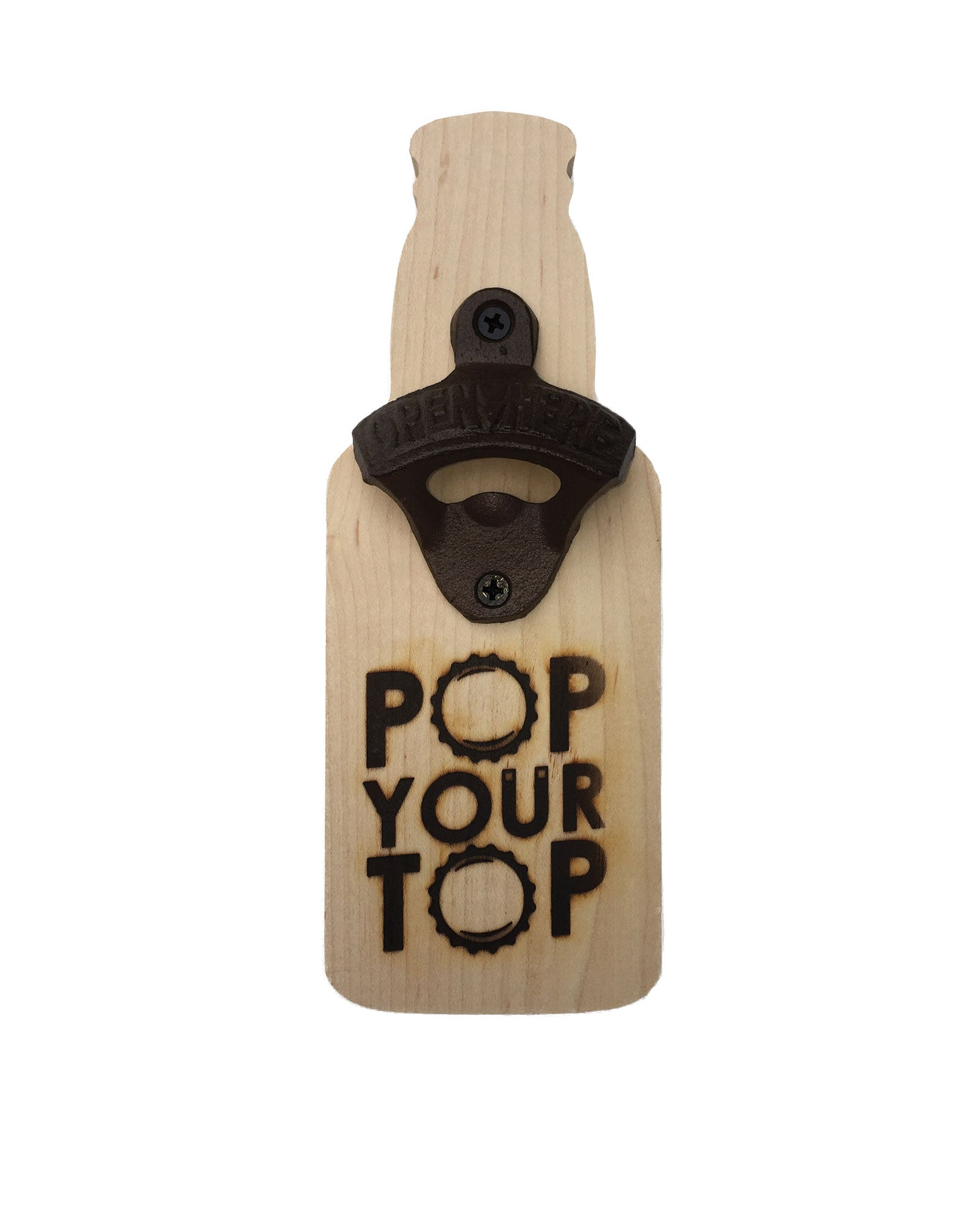Pop Your Top Magnetic Bottle Opener - The Great Lakes State